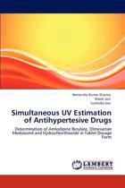 Simultaneous UV Estimation of Antihypertesive Drugs