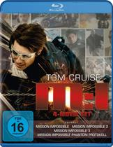 Mission: Impossible Ultimate Missions 1-4 (Blu-ray)