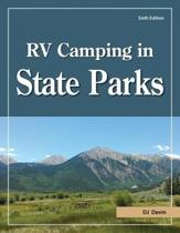 Omslag van 'RV Camping in State Parks, 6th Edition'