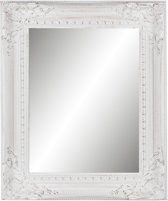 Clayre & Eef Spiegel 44x4x54 cm wit