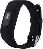 Siliconen Polsband Voor Garmin Vivofit 3 -  Armband / Polsband / Strap Bandje / Sportband - Zwart