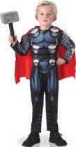 Luxe gevoerde Thor™ Avengers™ kostuum voor kinderen  - Verkleedkleding - 122/128