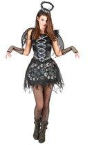 Zwarte engel kostuum voor vrouwen - Verkleedkleding - One size
