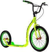 Crussis footbike ACTIVE 4.1 Yellow - Green (geel/groen)