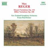 Reger: Mozart Variations, Hiller Variations / Decker
