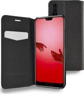 Azuri booklet ultra dun met stand functie - zwart - voor Huawei P20 Pro