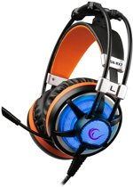Rampage SN-RX7 Eagle Led gaming headset - zwart