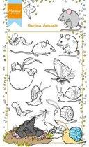 Marianne D Stempel Hetty's tuin dieren HT1614 11x18,5cm