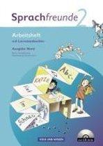 Sprachfreunde 2. Schuljahr. Arbeitsheft und CD-ROM. Ausgabe Nord (Berlin, Brandenburg, Mecklenburg-Vorpommern)