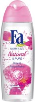 Fa Natural & Pure Rose & Passionflower Douchegel
