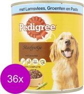 Pedigree Blik Stoofpotje Lam&Groente&Pasta - Hondenvoer - 36 x 800 g