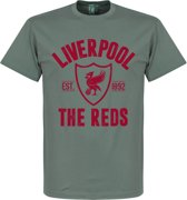 Liverpool Established T-Shirt - Grijs - S