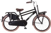 Popal Daily Dutch 2288 - Transportfiets - 22 Inch - Matt Zwart