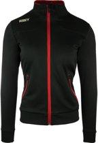 Robey Women Striker Trainingsjack - Voetbaljas - Black/Red - Maat XL