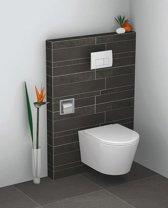 Wiesbaden inbouw-toiletrolhouder RVS