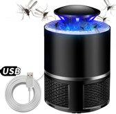 Muggen Lamp Vanger - Mosquito Killer - fruitvliegjes lamp - Insectenlamp - Muggen vanger - Muggen val - Anti Muggenlamp - Vliegenlamp - Muggen killer lamp - Zwart