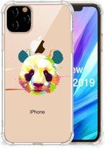 iPhone 11 Pro Max Stevige Bumper Hoesje Panda Color