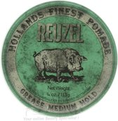 Reuzel Green Grease Medium Hold Pommade113gr