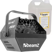 Bellenblaasmachine - BeamZ B500 bellenblaasmachine met 5 liter bellenblaasvloeistof