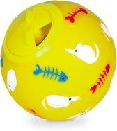 Nobby Cat Treat Ball - Geel - Ø 7,5 cm