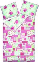 Room Seven Dentelle dekbedovertrek - Pink - 2-persoons (200x200/220 cm + 2 slopen)