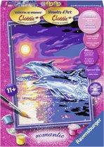 Ravensburger Dolfijnen in Zonsondergang -