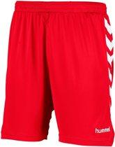 Hummel Burnley Voetbal Short - Shorts  - rood - 128