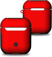 Case Hoes Voor Apple Airpods - Beschermhoes Cover - Rood