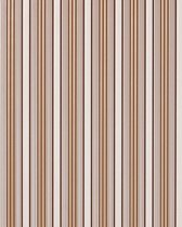 Strepen behang hoogwaardig vinylbehang EDEM 825-23 chocolade bruin wit bruin grijs   70 cm