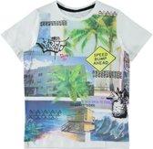 Name it Jongens T-shirt - Bright White - Maat 110