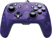 Faceoff Deluxe+ Audio Wired Controller - Purple Camo (Nintendo Switch)