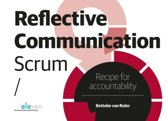 Reflective communication scrum