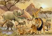 Ravensburger Afrikaanse wildernis - Puzzel