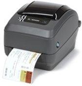 Zebra GX430t Thermo transfer 300 x 300DPI labelprinter