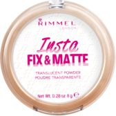 Rimmel London Insta Fix & Matte Powder Clear - Clear