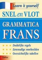 Boekomslag van 'Snel en vlot grammatica Frans'