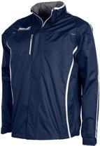 Reece Breathable Jacket - Hockeytrainingsjas - Kinderen - Maat 140 - Blauw