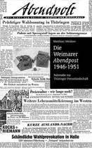 Die Weimarer Abendpost 1946-51