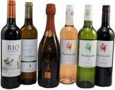 Grandcru Wijn-cadeau - 6 flessen - in schuifkist
