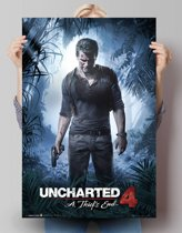REINDERS Uncharted 4 - a thiefs end - Poster - 61x91,5cm