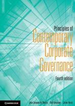 Principles of Contemporary Corporate Governance