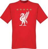 Liverpool 5 Star T-Shirt - XXL