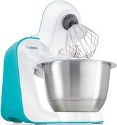 Bosch MUM5 StartLine MUM54D00 - Keukenmachine - Turquoise Wit
