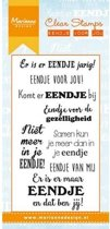 Marianne Design Stempel Eendje voor jou (Nederlands) CS0985 7.5x15.0cm