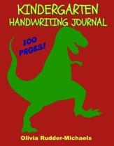 Kindergarten Handwriting Journal
