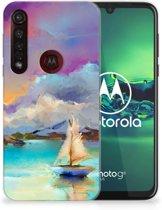 Motorola Moto G8 Plus Hoesje maken Boat