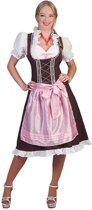 Boeren Tirol & Oktoberfest Kostuum | Worgl Weissbier Dirndl | Vrouw | Maat 40-42 | Carnaval kostuum | Verkleedkleding