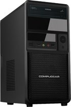 COMPUGEAR Desktop PC met AMD A4 Dual-Core + 8GB RAM + 1TB HDD + WiFi + Windows 10
