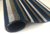 Chilewich doormat 46x71cm Even Stripe marine