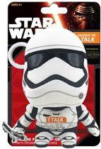 Star Wars The Force Awakens New Order Stormtrooper ClipOn Talking Plush